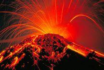 Volcanos & Lava / by Vicki