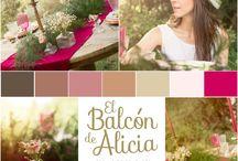 Our colors... / Tableros de inspiración de nuestros eventos ~ Colors & Palettes ~ Moodboard