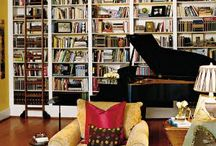 Piano and books