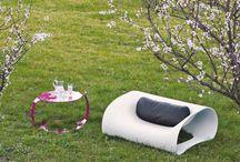 Garten Natur Outdoor / Inspiration Möbel für Draußen