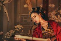 中華 衣装 / 色白美人さん最高!! 中華風の衣装映えますネ