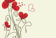 Flores para imprimir