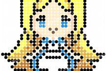 pearl beads pattern