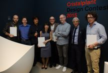 """Cristalplant Design Contest 2015"" award ceremony / Cristalplant® & Antoniolupi at Fuorisalone!"
