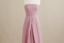 The Bridesmaid Dress / The criteria are: solid (soft) pink, strapless and knee-length. / by Danielle Henderson Evans