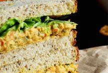 Vegan Sandwich Fillings / What shall I put between my slices of bread?! Vegan sandwich fillings to fill me up :)