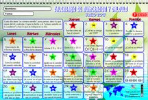 Calendarios numeración y calculo