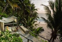 Ultra Luxurious Lodges and Beach Retreats / The finest and most luxurious African safari lodges and beach retreats. These places have the best decor and the highest levels of service, as well as stunning views.