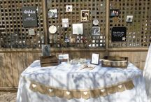 Signing & Gift Table Inspiration