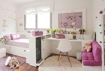 Isomman lapsen huone