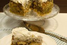 Kedi dili bisküvili Elmalı pasta