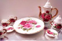 Porcelana decorada / Linda cerámica pintada para adornar tu hogar