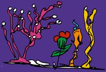 taylan özgür / art, illustration, painting, hand drawn