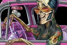 Rockabilly and Kustom Kulture / A world of rockabilly style, cars & culture
