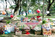 Festa aniversário Parque