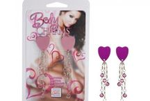 Body Jewelry / sexy jewelry, non-piercing body jewelry, nipple charms, nipple rings