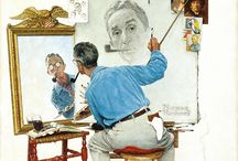I Love Norman Rockwell / by Stacey Howell