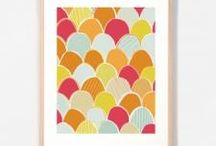 Perfect Prints / Perfect prints for adding a splash of colour to any space