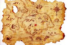 Let's build a goddamn pirate map sleeve tattoo