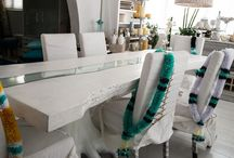 Relax & Design / Spoil yourself with a feather cushion couch after a stressful day. Let the pillows take the shape of your body while having a drink. White, aqua color inspiration and electric, are some of the proposals of Chora Art Home Design by Kelly Vorrea. Everywhere is inspiration. These contemporary and incredibly chick furniture, will change the idea you had for interior design.