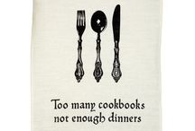 Too Many Cookbooks not enough dinners