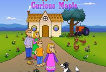 The Wafflehoffers Curious Maple / Meet The Wafflehoffer Family who live in Waffleville and experience many adventures.