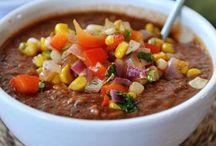 I love soup. / Soups