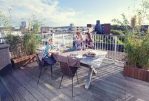Inspiration: Rooftop garden / terrace