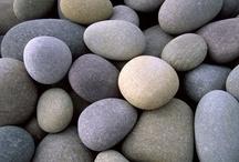 Pebbles, stones, rocks...