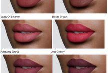 Labbra trucco