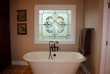 Decor Windows / Décor Overlays allow you to receive the same benefits of a stained glass window at a fraction of the cost.  Custom patterns and color combinations are limitless, and overlays can be installed on any size and shape window.  Overlays can be shipped anywhere in the U.S. Give us a call today to order yours @ 1-866-357-0888.
