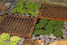 structural and recycled ideas for gardens