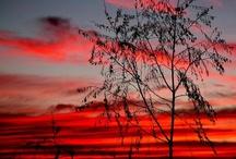 Sunrise and sun set