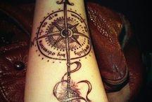 Tatto de Bússolas