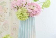 SPRING PASTELL / Allerhöchste Zeit für frühlingshafte Dekoration - deshalb zeigen wir euch unsere schönsten Inspirationen mit Blumen und Accessoires in Pastellfarben.