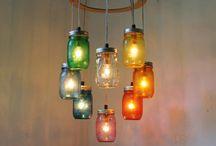 Ghirlande di lanterne luminose