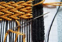 creating - weaving/crochet/macramé/rug hooking