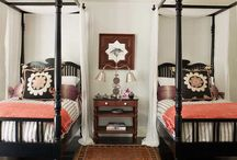 Bedrooms / by Courtney (Fadness) Thornalley