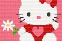 Baby, animal, anime cross stitch