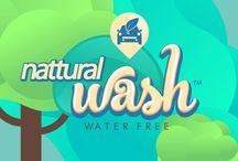 Nattural Wash / Empresa que presta servicios de lavado automotriz sin usar una gota de agua.