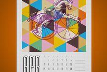 Graphic Design - Calendar / by ute