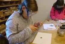 Kindergeburtstag / Kreativer Kindergeburtstag im Atelier Durchblick in Mannheim
