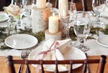 table settings / by Lula Tresca