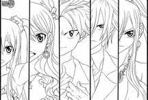 anime kolorowanki