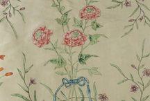 tissus 18ème siècle