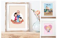 Custom portraits / maatwerk portretjes cartoon