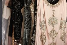 Racks of pretty clothes