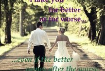 Marriaqe Stuff / Idea, gospel, quotes and other stuff for having an amazing, God-Centered marriage / by Carrie Paul