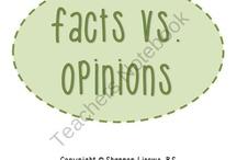 ELA - Fact vs. Opinion