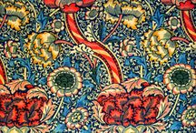 William Morris – Designs for Wallpaper, Textiles and Tiles. / William Morris (1834 –1896) was an English designer, artist and writer, associated with the Pre-Raphaelite Brotherhood and English Arts and Crafts Movement. He founded a design firm in partnership with Edward Burne-Jones, and Dante Gabriel Rossetti which profoundly influenced interior décor into the early 20th century.